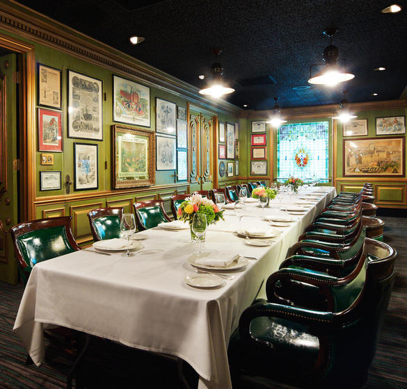 Central Pacific Private Dining Room