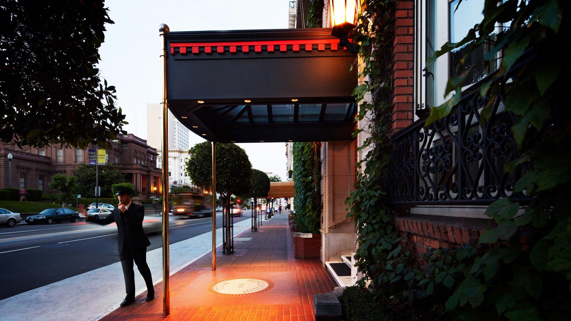 San Francisco Hotel in Nob Hill - Huntington Hotel